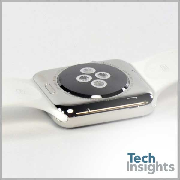 Apple Watch Laying Back