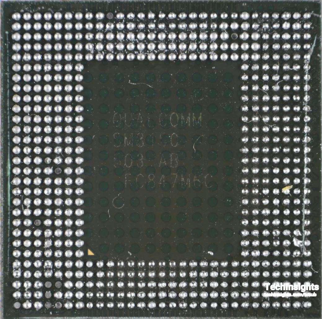 Figure 10 Qualcomm Snapdragon SM8150 Processor - Top