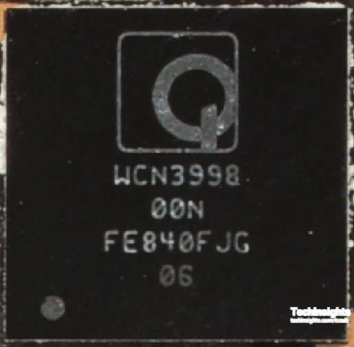 Figure 5 Qualcomm WCN3998