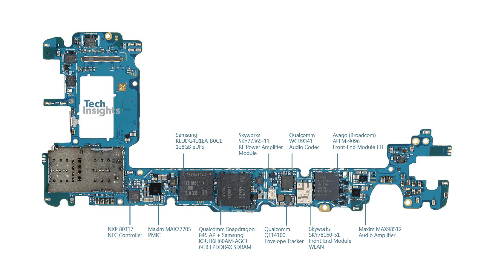 Samsung Galaxy Note9 Teardown