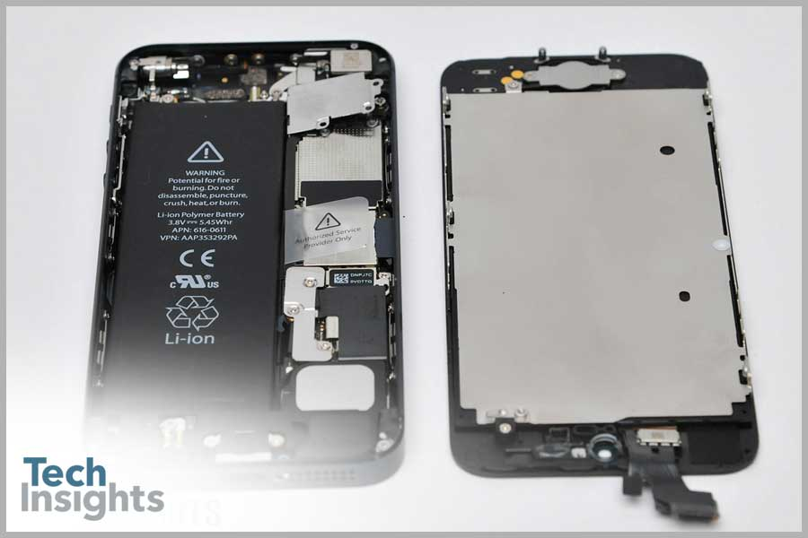 Inside Apple iPhone 5