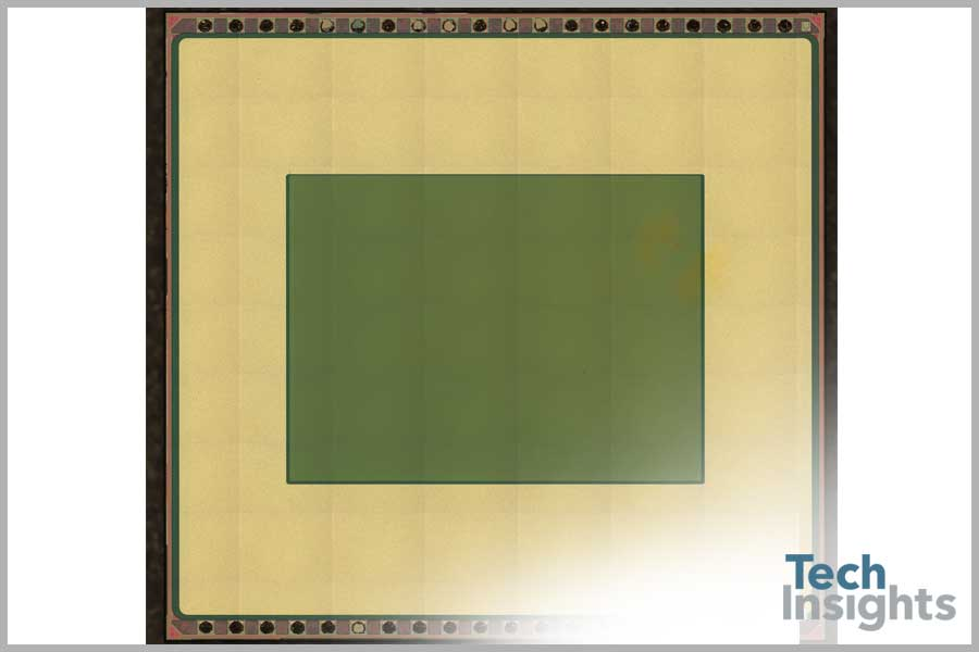 iPhone 5 Secondary Camera / OmniVision Image Sensor Die Photo (filters removed)