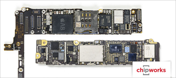 apple iphone 6 and iphone 6 plus teardown techinsights