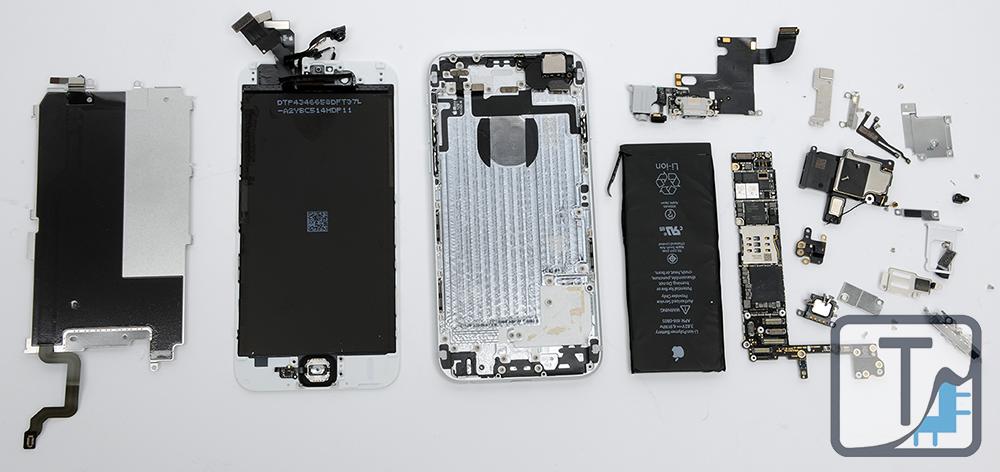 805c764de3b8c7 Apple iPhone 6 and iPhone 6 Plus Teardown | TechInsights