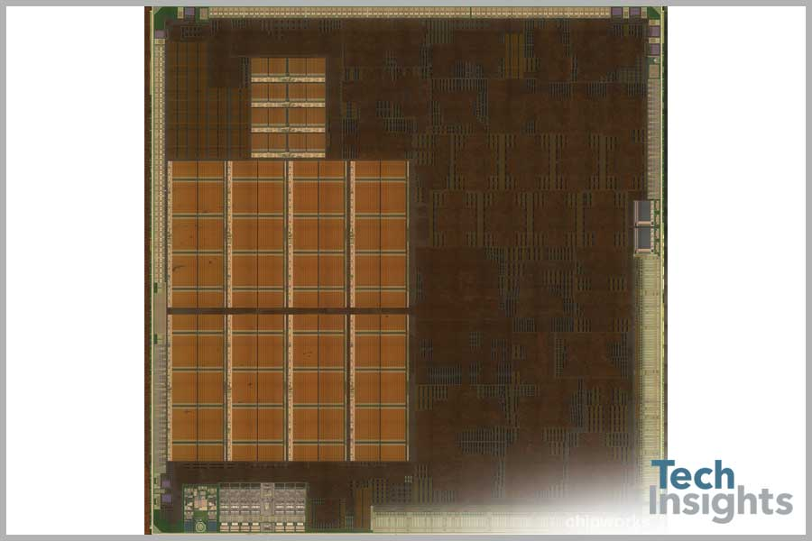 WiiU Graphics Processor - Polysilicon Die Photo