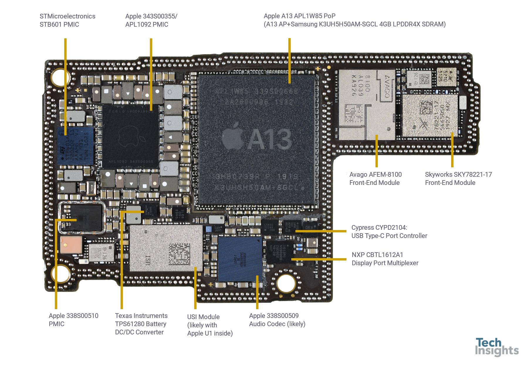 Apple Iphone 11 Pro Max Teardown Techinsights