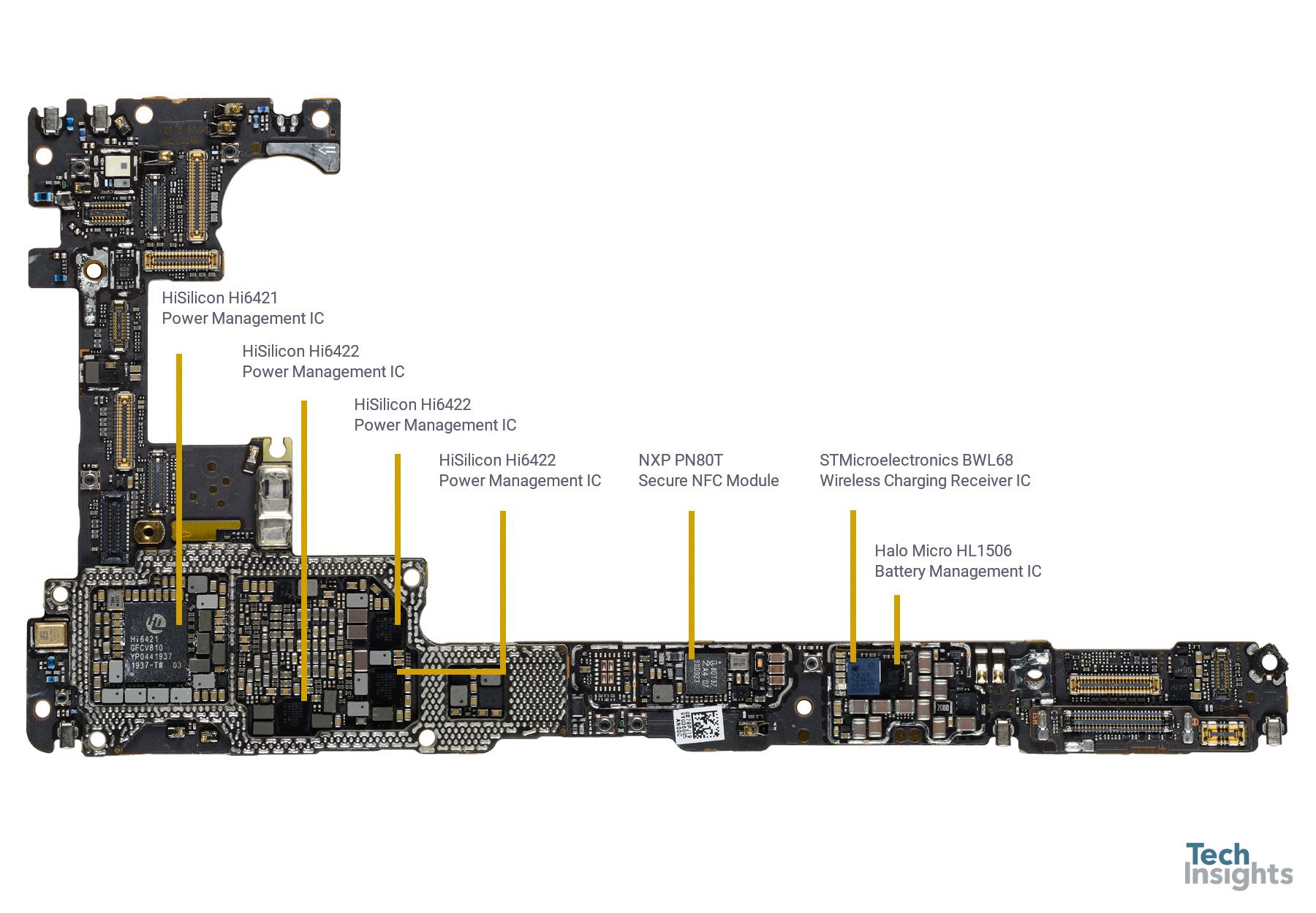 Huawei Mate 30 Pro 5G - Board Top