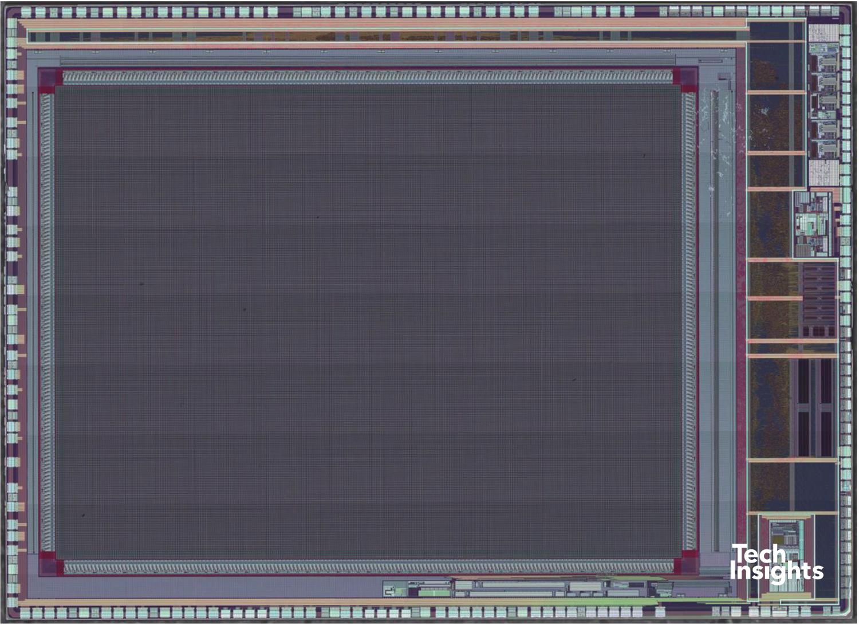 Samsung S5K231YX Dynamic Vision Sensor (DVS) Polysilicon Die Photograph