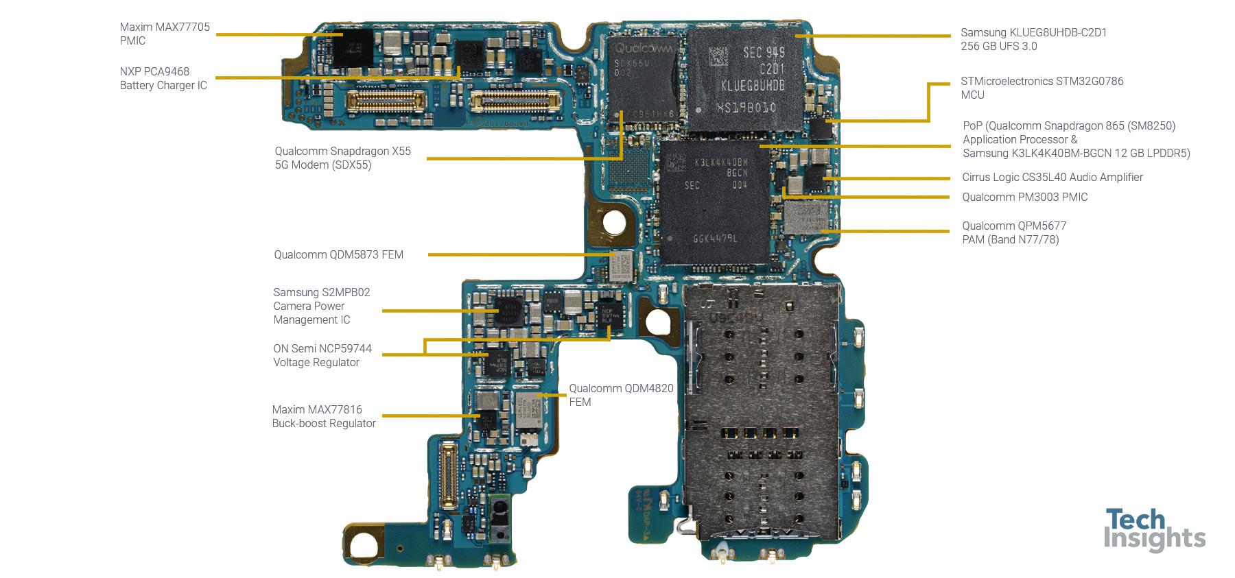 Samsung Galaxy S20 Ultra 5G - Board - 1
