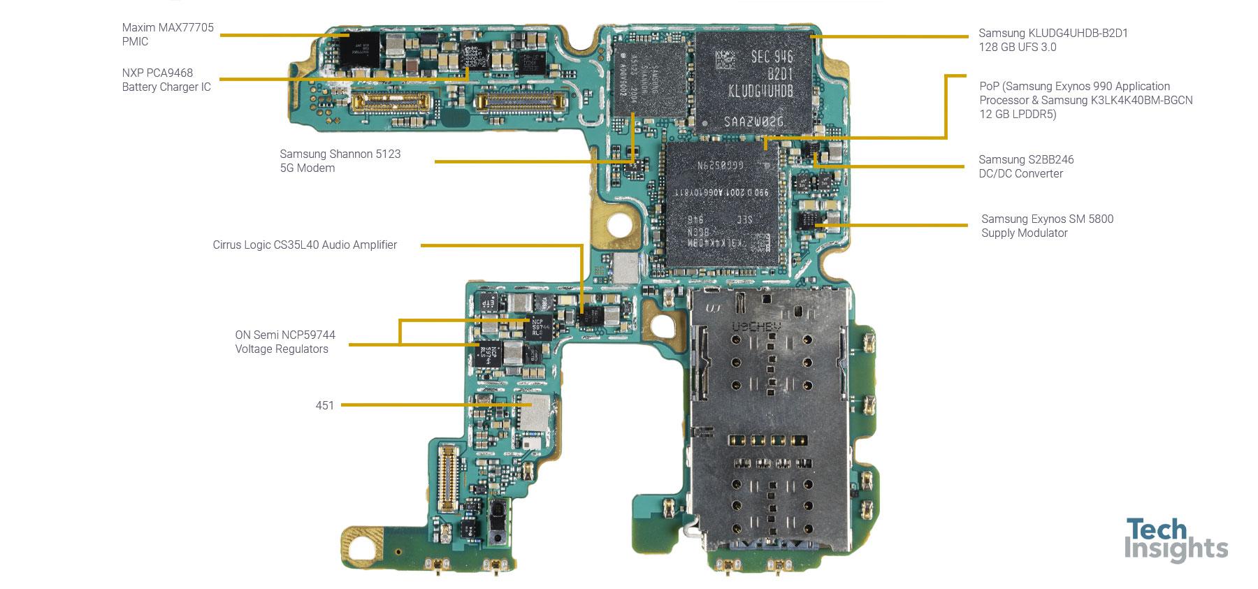 Samsung Galaxy S20 Ultra SM-G988B/DS - Board - 1
