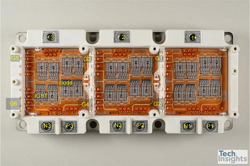 Figure 10 Infineon FS800R07A2E3 IGBT3 (650 V 800 A)