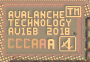 Avalanche 40 nm pMTJ STT-MRAM