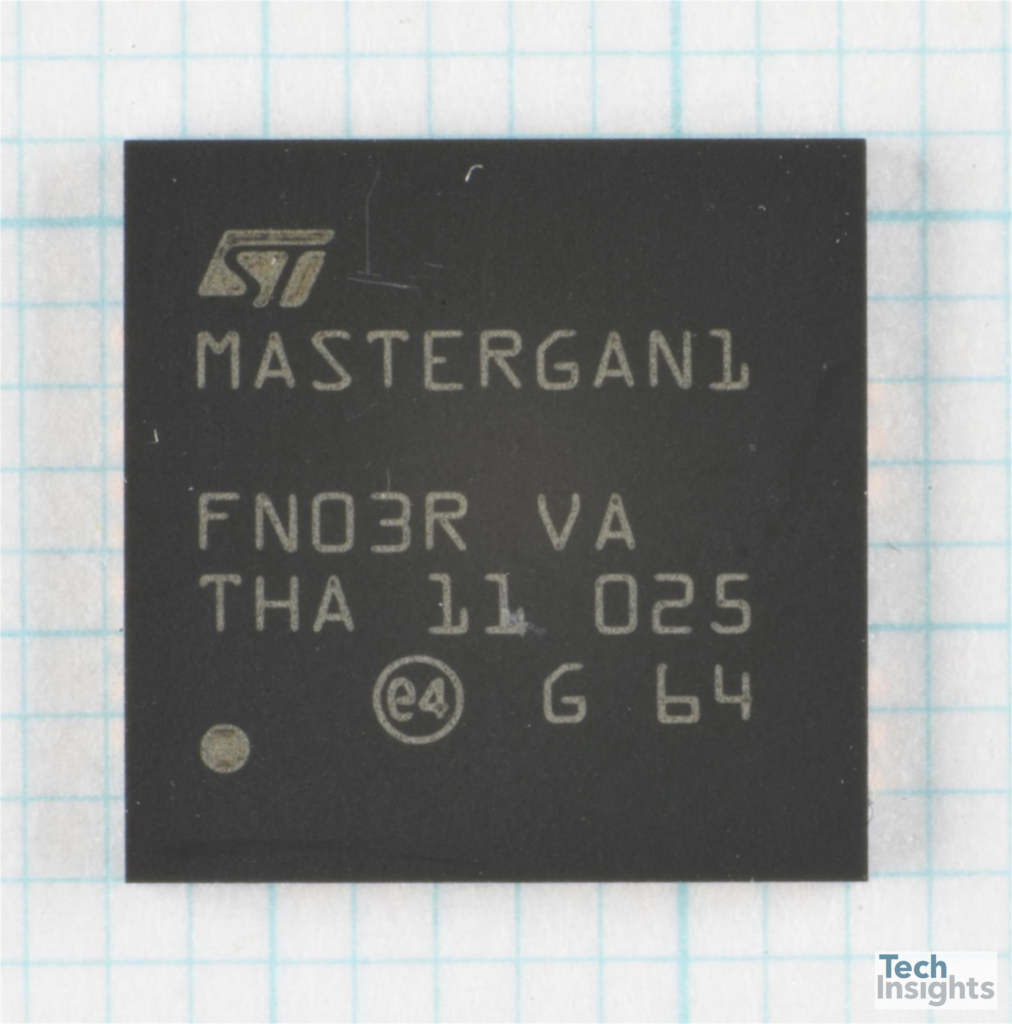 Inside the STMicroelectronics MasterGaN1 Integrated GAN High Voltage Half-Bridge
