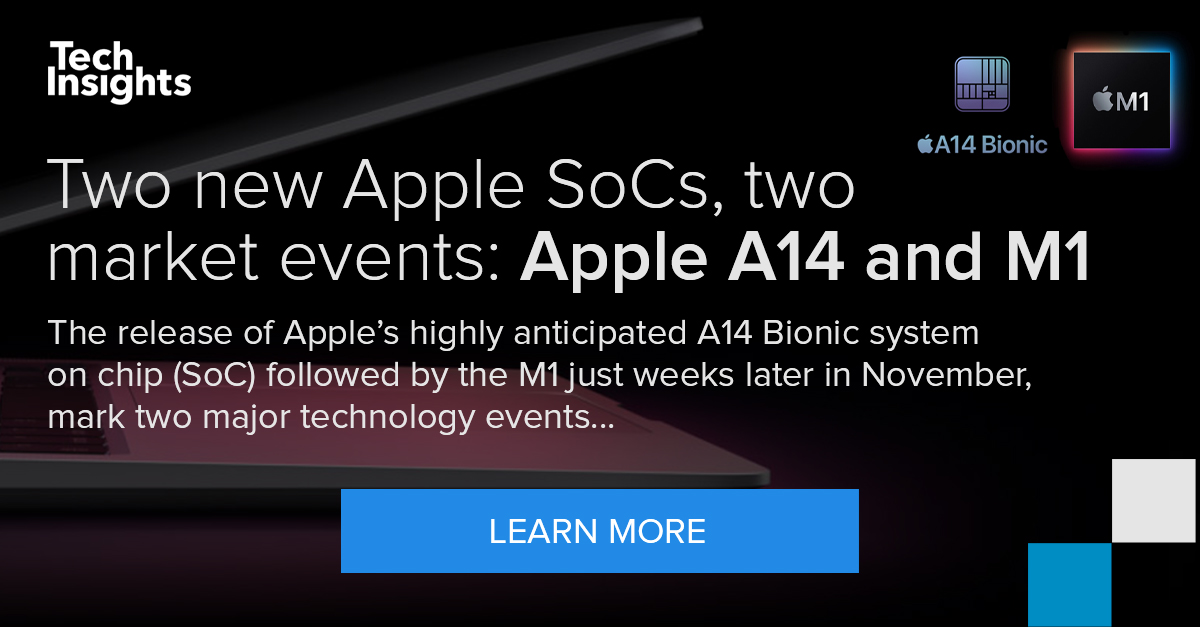 Two new Apple SoCs, two market events: Apple A14 and M1