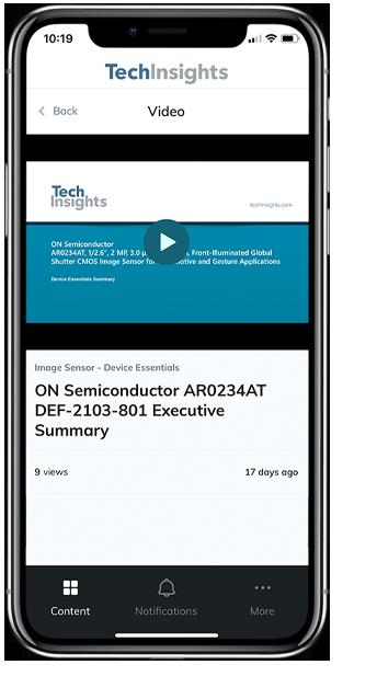 TechInsights mobile app