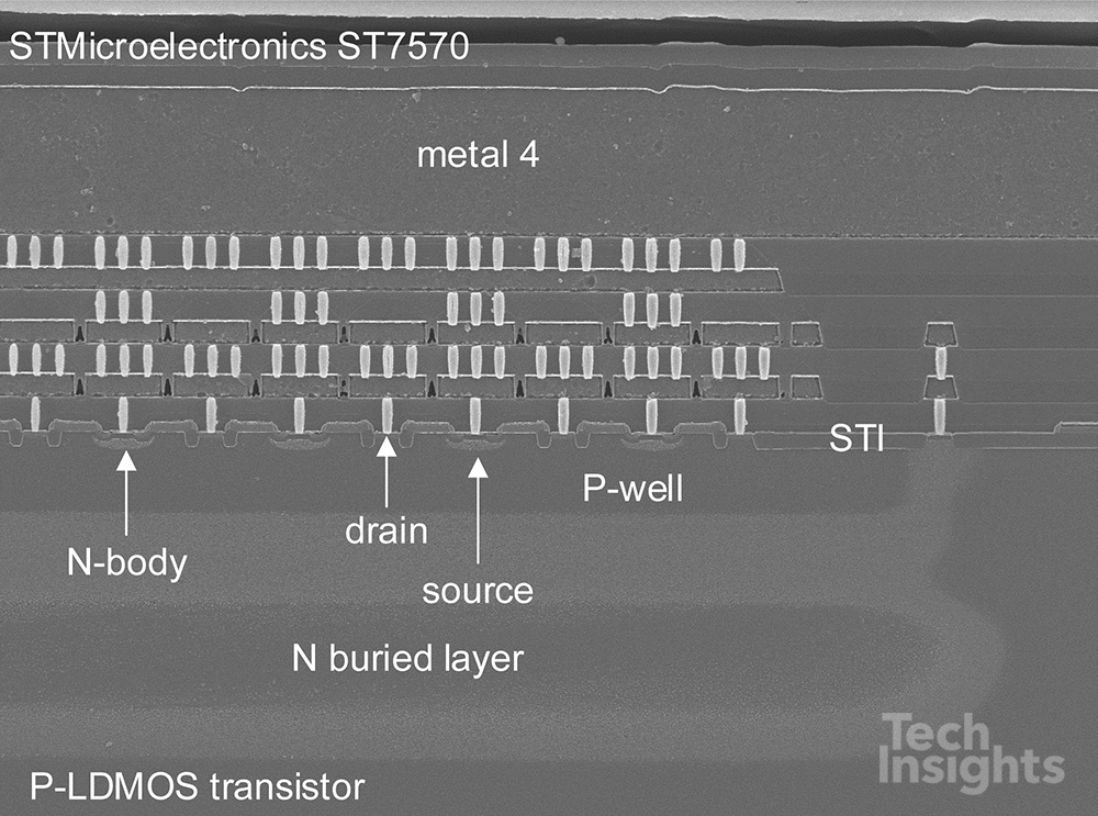STMicroelectronics ST7570 P-LDMOS Transistors