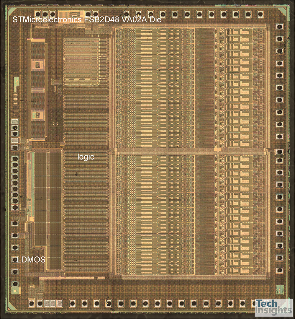 STMicroelectronics FSB2D48 BCD9 Die Photograph