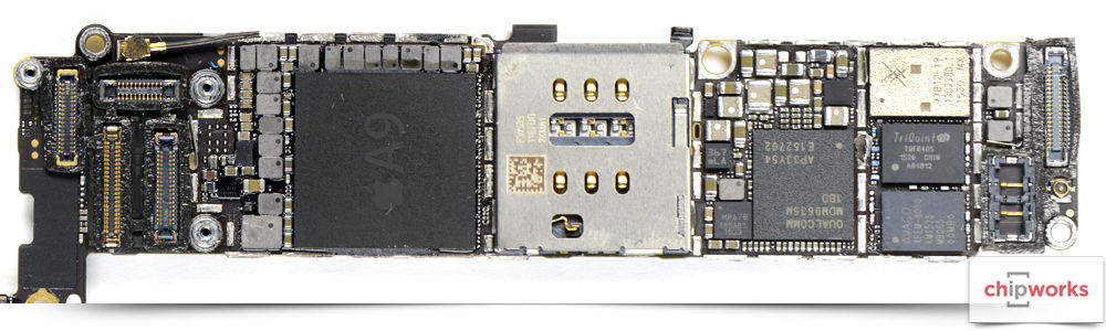 Apple iPhone 6s Board Shot Front