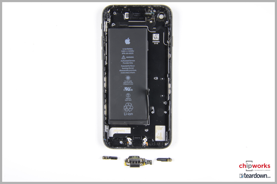 Looking over at the iFixit teardown of the iPhone 7 Plus we see STMicroelectronics has also scored design wins into the iPhone 7 Plus.