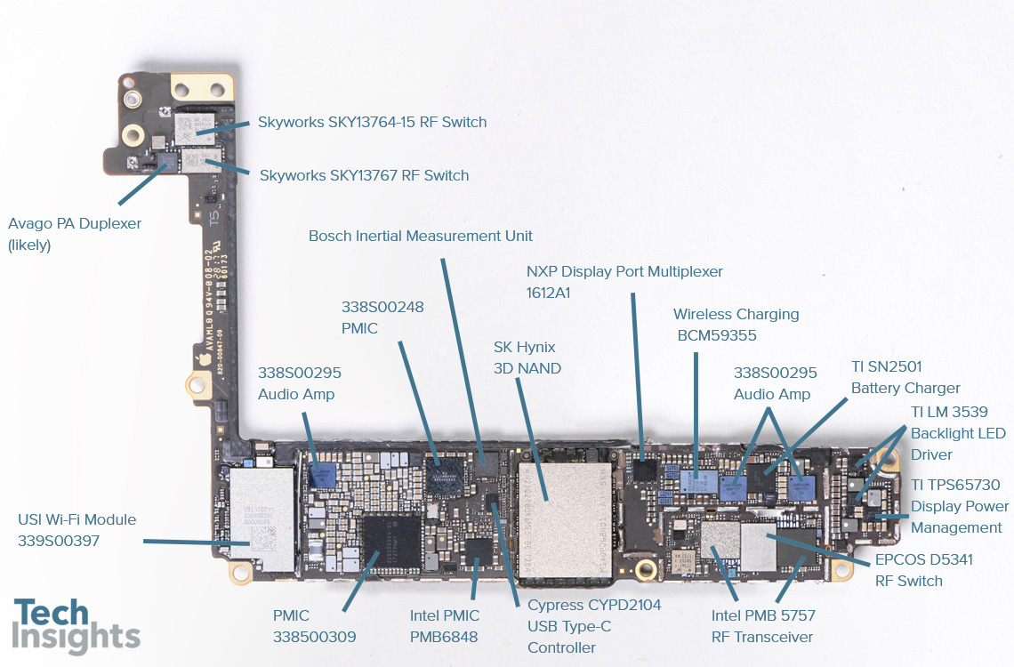 Apple iPhone 8 Plus Board