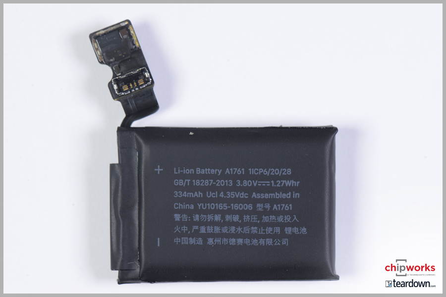 Taptic engine and battery