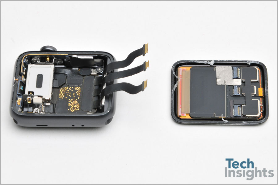 Apple Watch Series 3 Teardown - Seperated