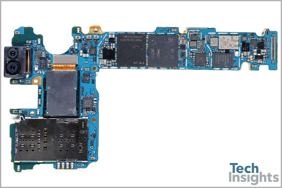 Samsung Galaxy S8 Board Front