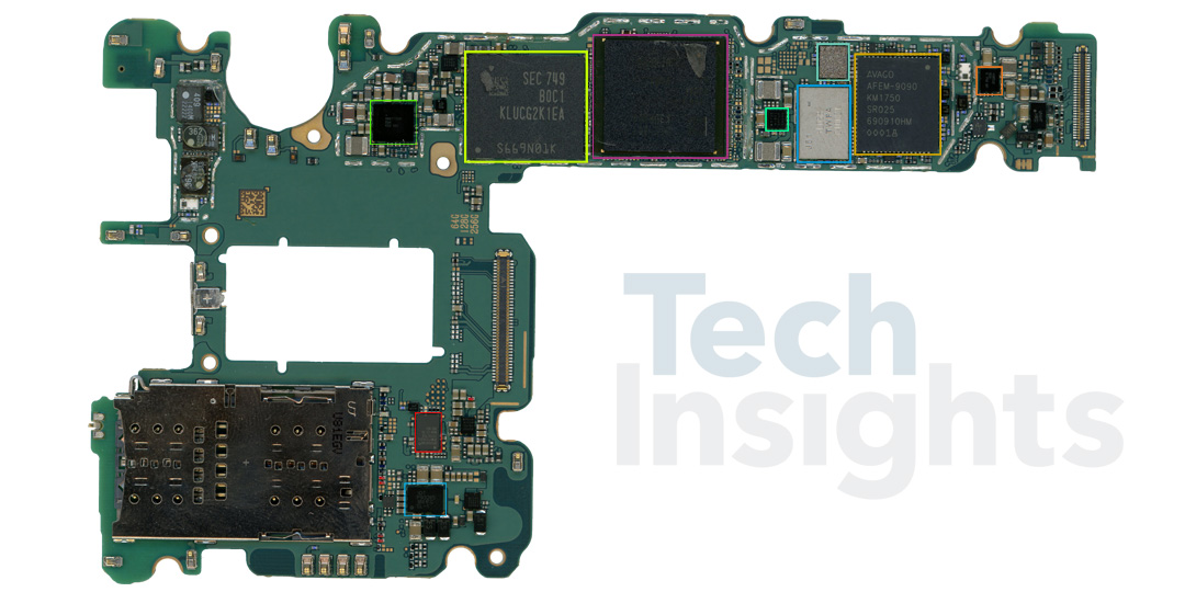 Samsung Galaxy S9 Teardown
