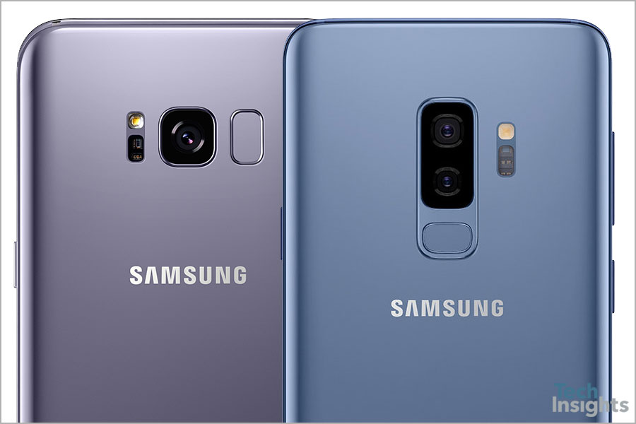 Samsung Galaxy S8+ and Samsung Galaxy S9+