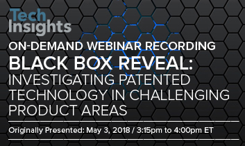 Black Box Reveal: Investigating Patented Technology in Challenging Product Areas