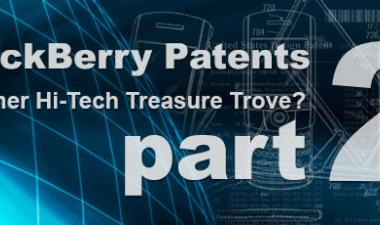 BlackBerry Patents – Part 2