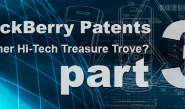 BlackBerry Patents – Part 3