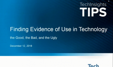 TIPS - Finding Evidence of Use in Technology: the Good, the Bad, and the Ugly