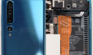 Xiaomi Mi 10 Teardown Analysis