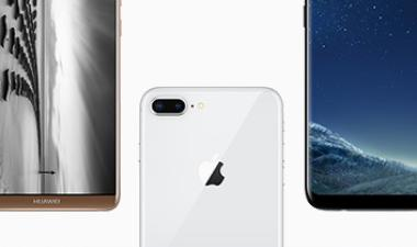 Cost Comparison – Huawei Mate 10, iPhone 8, Samsung Galaxy S8